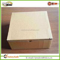 Standard corrugated mail box size corrugated packaging box