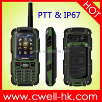 Jeep Z6 Jeep Z6+ 4 inch MTK6582 Quad Core IP68 Rugged Smartphone with Dual SIM Card 8mp Camera Wifi GPS 3 colors for choice