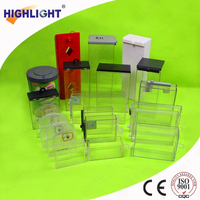 EAS safer box for commodity/ 58khz plastic safer/ super detacher safers