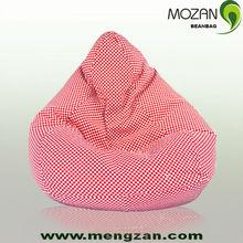 red cozy cotton beanbag chair,bean bag mini sofa