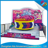 2015 New Mini Amusement Rides/indoor playground equipment/Disco turntable