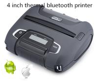 4 inch mini thermal usb bluetooth thermal receipt label printer Woosim WSP-I450 for smartphone