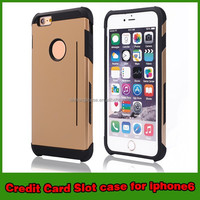 for iphone 6 case credit card slot case for iphone 6 new products
