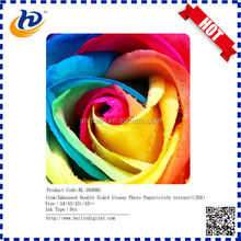 trade assurance order double sided glossy photo paper 4x6 size 260g