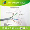 China Hangzhou High quality d-link 23awg cat6 lan cable/utp cable cat6