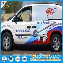 Custom printed vinyl sticker/ adhesive car window decal