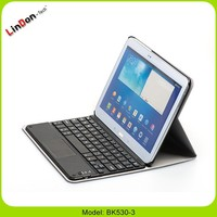 Universal 10.1 inch tablet pc keyboard touchpad with leather case