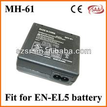 EN-EL5 Camera Charger Battery Pack for Nikon Coolpix 3700 4200 5200