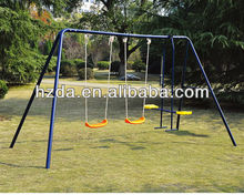 Metal outdoor swing sets for adults