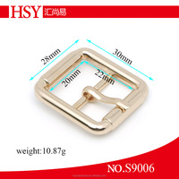 For men & lady's belt strap nickel free high quality customzied metal buckle