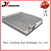 plate bar hydraulic cooler with cover,aluminum