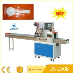 Automatic Disposable plastic spoon packing machine with low price