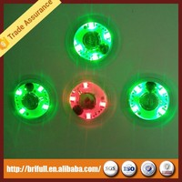 flashing light led bottle sticker coaster made in shenzhen