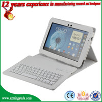 For Samsung note N8000 leather case bluetooth keyboard leather case for samsung n8000