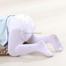 Hosiery manufacturers baby girls jacquard nylon tights transparent silk stockings wholesale