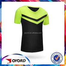 Wholesale jersey soccer garment with top quality cheap