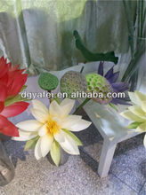 Real Touch Water Lily Artificial Lotus Flower