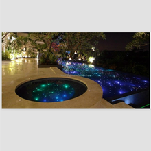 swimming pool fiber optic light with remote control in 7 kinds of color supplier in china