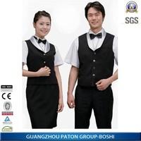 Comfortable Hotel Uniform/Hotel Staff Uniform Vest