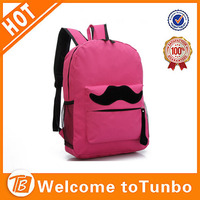 600D unique backpacks high school book bags for girls
