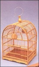 Handmade wooden bird cage antique bird cages bamboo wood bird house