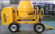 KAMA 178F disel Engine 350L mini Concrete Mixer,concrete mixer machine price