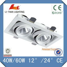 two lamps box light CE ROHS Approval energy saving box wall mounted Ceiling Downlight LED one/two/tree lamps