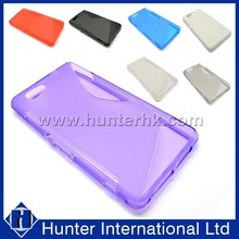 Hot Sale Simple S Curve For Sony D5503 TPU Gel Case