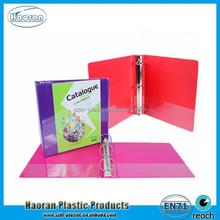 A4 plastic file magazine binder