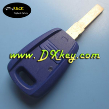 Blue color 1 button remote control case for fiat key cover key blank fiat 500