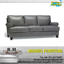 Antique Sofa Home Use Genuine Leather Chesterfield Sofa set XYBC-23
