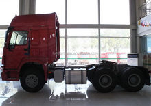 Low price latest dongfeng 2015 new model 6x4 tractor head
