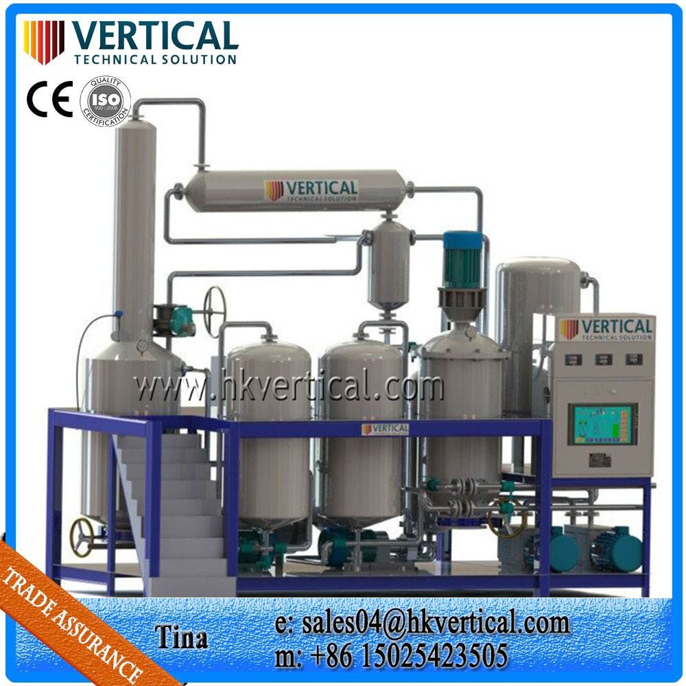 Vts Pp Used Tyre Oil Recycling Plant To Fuel Oil Waste