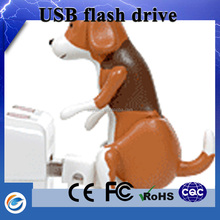 World best selling products free hot animal sex dog shaped usb flash drives with gift box