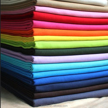 polyester cotton dyed/white fabric