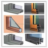 aluminum window frame parts / covers