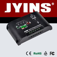 High quality 12v/24v 5 to 30A solar charge controller