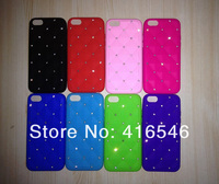 Luxury Bling Diamond Crystal Star Soft Silicone Back Phone Case for Apple iPhone 5C Back Cover