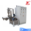 Low noise lab powder coating grinding system