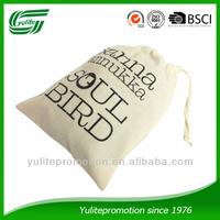 New Fashion Cotton Drawstring Shoes Bag
