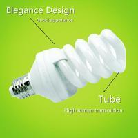 U shape/half spiral/full spiral /lotas energy saving lamp with CE ROHS energy saving e27 7w led lighting bulb