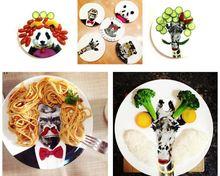 Cara da comida prato de jantar China pratos pratos bandeja de comida fresco Decor