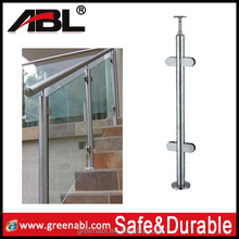 304 stainless steel fence post steel fence posts for stainless steel decorative railing handrail
