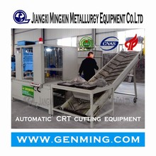 High Efficiency CRT Cutting machine for waste TV/computer recycling