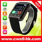 2015 China barato preto blanco sim card inteligente watch em shenzhen