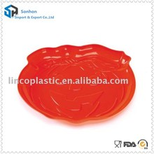 Newest Plastic Round Storage Tray For Halloween Party