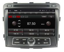 8' 2 din 4-core android 4.4 touch screen car radio/stereo dvd player with gps ,3g wifi,mirror link for Hyundai SONATA 2011