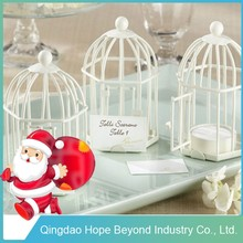 Table Decorative Bird Cage Candle Lantern