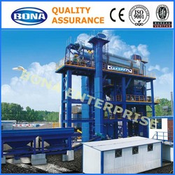 high efficiency lb2500 stationary asphalt bitumen plant made in china