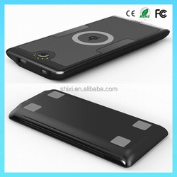 Newly arrival 2 in1 Universal Qi wireless power bank wireless charger for Mobile Phone/Ipad/Tablet